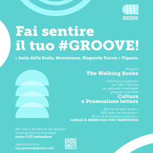 "Progetto ""Groove - The Walking Books"""
